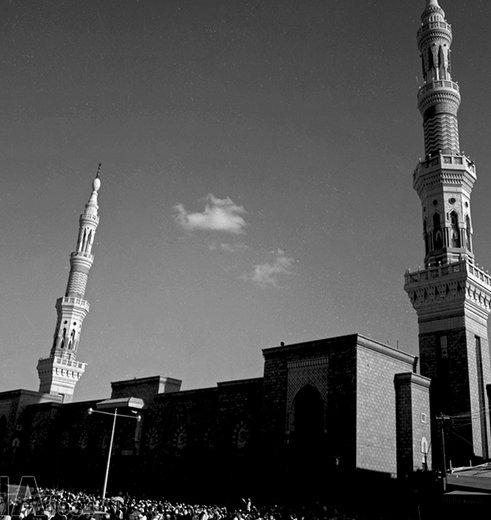 مسجد النبی(ص) در سال 1345