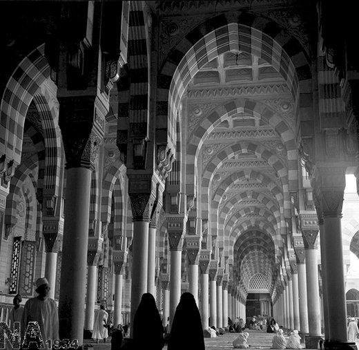 مسجد النبی(ص) در سال 1343
