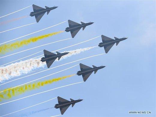 دوازدهمین نمایشگاه بینالمللی هوا و فضا چین
