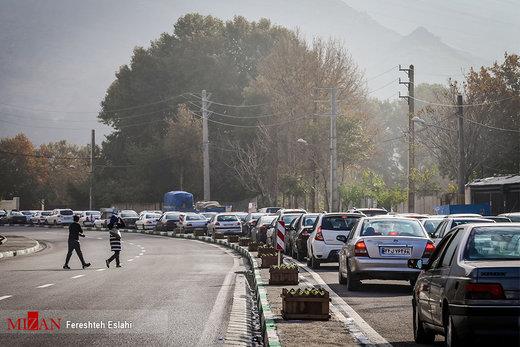 ترافیک سنگین در جادههای خروجی مشهد؛ دو و نیم میلیون خودرو شخصی از شهر خارج شدند