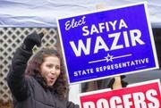 زن فراری از دست طالبان نماینده مجلس ایالتی در آمریکا شد