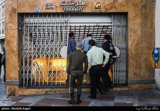 مقصر برخورد قطارهای مترو در غرب تهران مشخص شد