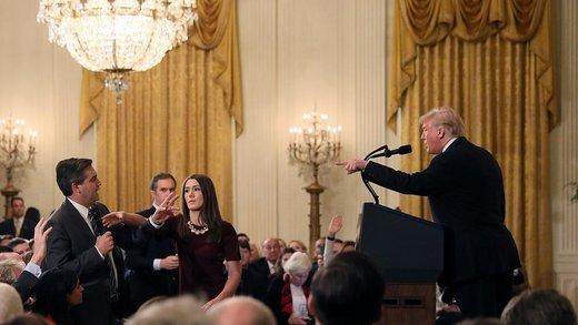 فیلم | ترامپ، خبرنگار ان.بی.سی را هم تحقیر کرد