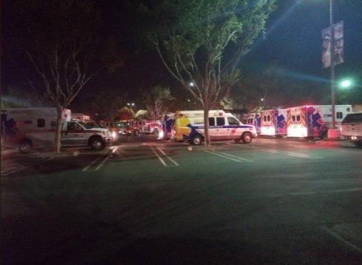 فیلم | تصاویر منتشرشده از تیراندازی در یک بار در کالیفرنیا