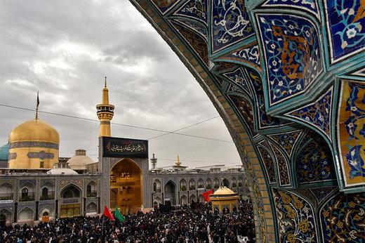 فیلم | حال و هوای مشهد در سوگ علی بن موسی الرضا(ع)