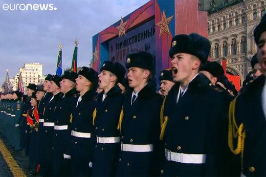 فیلم | سالگرد رژه تاریخی میدان سرخ در مسکو