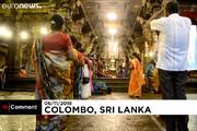 فیلم | تطهیر با روغن کنجد در جشن «صف نور» هندیها