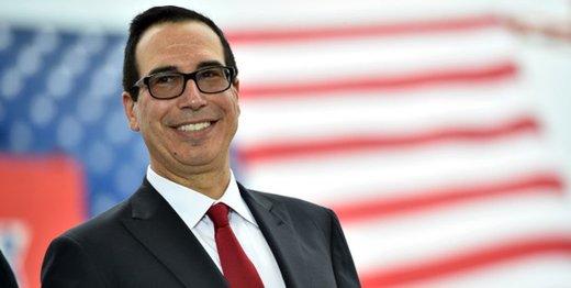 وزیر خزانهداری آمریکا: سوئیفت، سرویس بانک مرکزی و نهادهای مالی تحریمشده ایران را قطع میکند