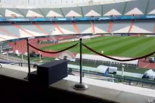 فیلم   آیا سیدجلال از روی این سکو کاپ قهرمانی آسیا را میگیرد؟