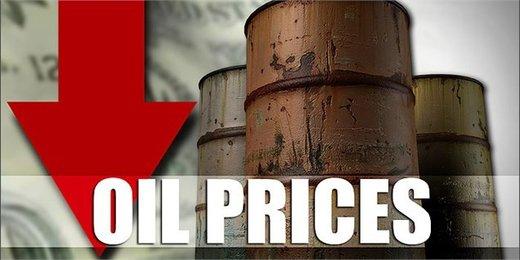بزرگترین ریزش قیمت نفت در۳ سال اخیر