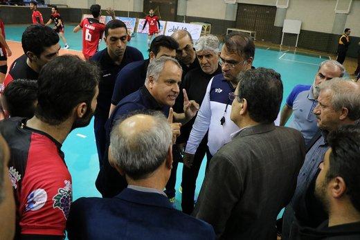 آشوب بزرگ والیبال در ارومیه / مشهدیها فاتح دیدار جنجالی