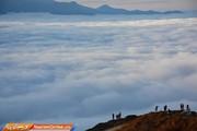 ببینید | زیبایی جادویی ارتفاعات فیلبند در روزهای ممنوعیت کرونایی