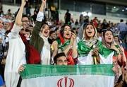 تشویق زنان حاضر در آزادی توسط هزاران پرسپولیسی
