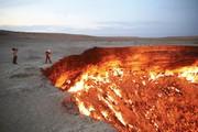 تصاویر | دروازه جهنم روی زمین!