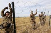 تصاویر | مراقبت ۷ هزار سرباز آمریکایی از مرز مکزیک