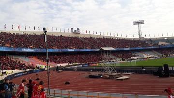 بلایی که باران سر ورزشگاه آزادی نونوار شده آورد!/ عکس