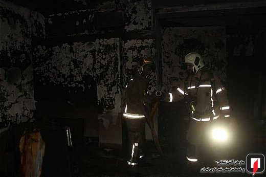 انفجار منزل مسکونی در محله اتابک