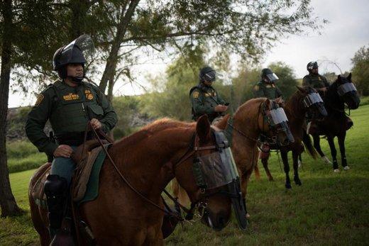 اعزام سربازان آمریکایی به مرز مکزیک برای مقابله با کاروان مهاجران