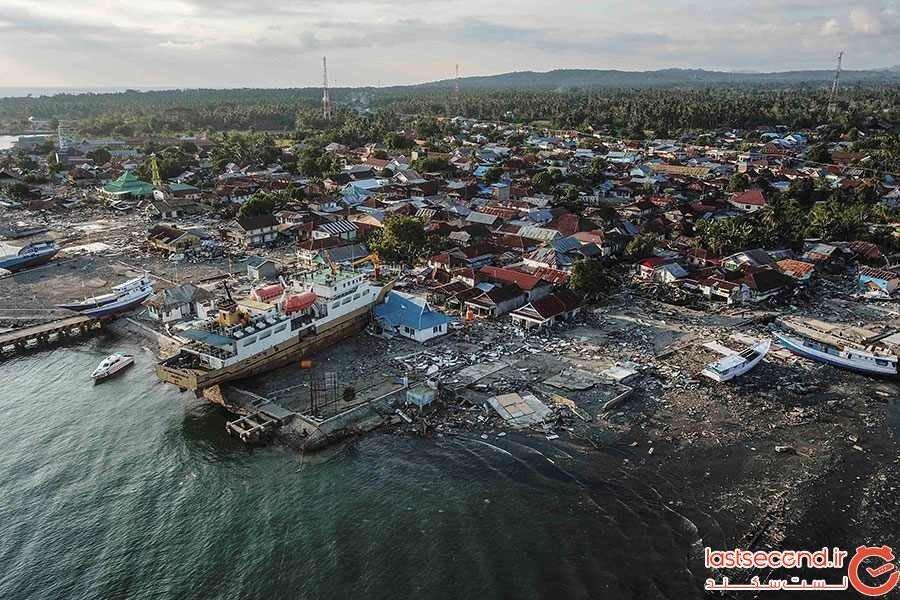 اندونزی در بستر بلایای طبیعی قرار گرفته است