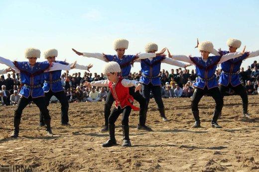 مراسم ازدواج 8 زوج ترکمن