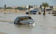 تصاویر | باران و سیل کمسابقه در کویت؛ وزیر استعفا کرد