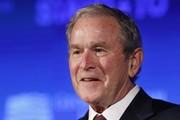 تصاویر | مدال آزادی بر گردن بوش آویخته شد!