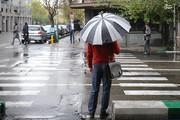تصاویر | حال و هوای تهران در باران امروز