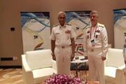 دیدار فرماندهان نیروی دریایی ایران و هند