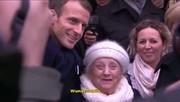 فیلم | اشتباه بامزه پیرزن ۱۰۱ ساله در دیدار با مرکل