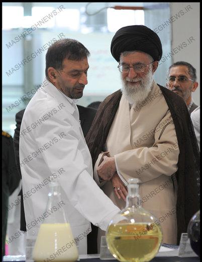 تصویری از نامه صمیمانه پدر صنعت موشکی ایران به رهبر انقلاب