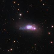 تصویر هابل از یک کهکشان کوتوله