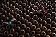عکس | زنان سفالگر در عکس روز نشنال جئوگرافیک