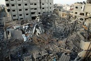 تصاویر | حمله رژیم صهیونیستی به ساختمان تلویزیون الاقصی