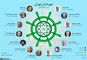 اینفوگرافیک | شهردارهای پایتخت از اول انقلاب تا امروز را بشناسید
