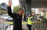 نادر دست نشان و دیدار با سرمربی تیم ملی