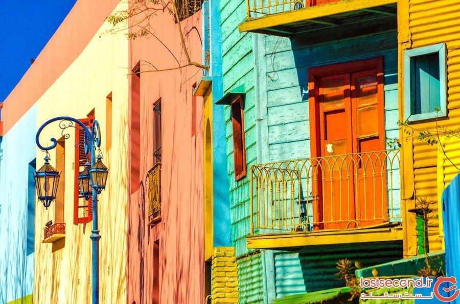 لابوکا در بوئنوس آیرس؛ آرژانتین