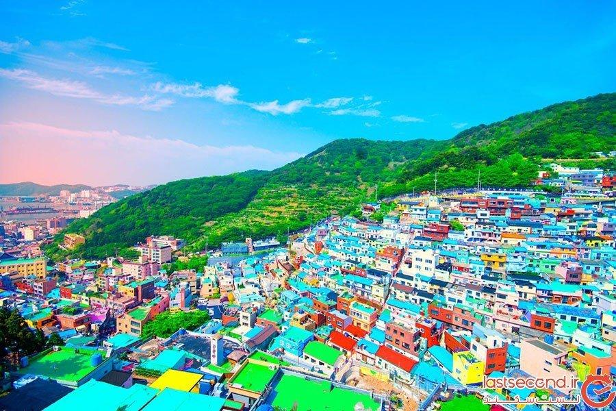 گامچون در بوسان؛ کره جنوبی