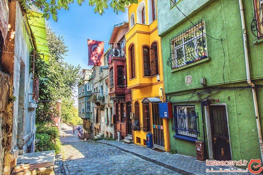 محله قدیمی بلاط در استانبول