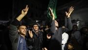فلسطینیها جشن گرفتند