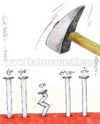 کاسه کوزهها سر طارمی شکسته شد!