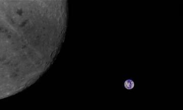 ماهواره چینی از نیمه پنهان ماه عکس گرفت