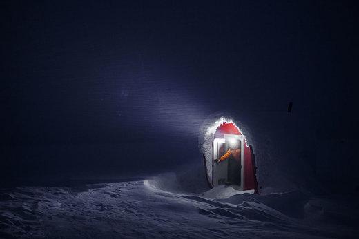 کولاک در کوه module در وولوگدا روسیه
