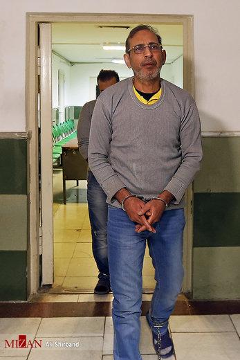 لحظاتی پیش از اجرای حکم اعدام وحید مظلومین و محمد اسماعیل قاسمی