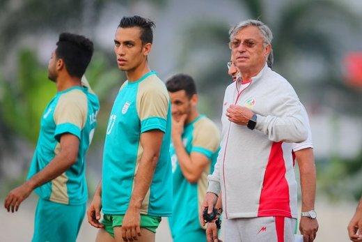 کرانچار: بازی با عراق حکم فینال دارد