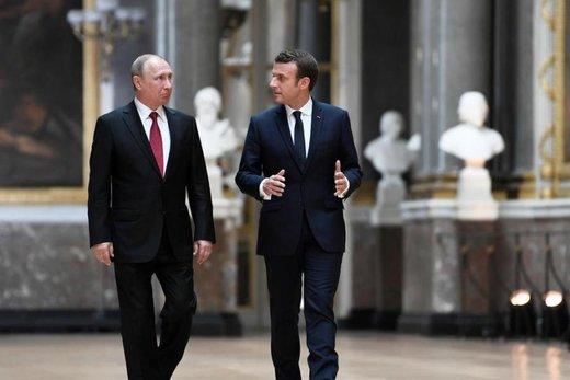 روسیه طرح مکرون را رد کرد