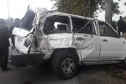 تصادف شدید مسئولان وزارت تعاون در گرگان؛ تلاش برای احیای رئیس تامین اجتماعی