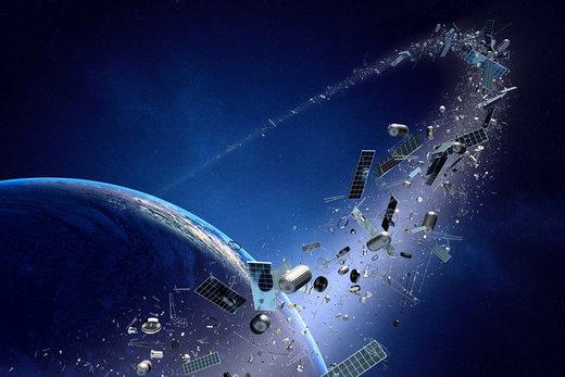مشکل ادامهدار زبالههای فضایی
