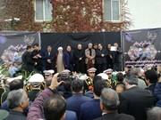 فیلم | سخنان دردناک وزیر سابق کار در مراسم وداع با نوربخش و تاجالدین