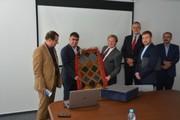 هیئت اقتصادی تجاری استان کهگیلویه و بویراحمد با رئیس اتاق بازرگانی براتیسلاوا دیدار کرد