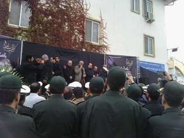 استاندار گلستان در مراسم تشییع رئیس و معاون تامین اجتماعی: میزبان خوبی نبودیم